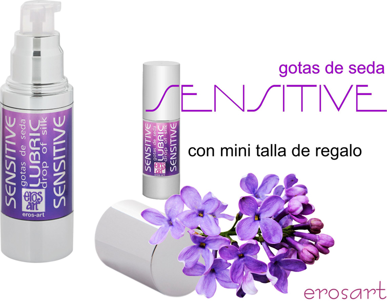 Sensitive gotas de seda erosart